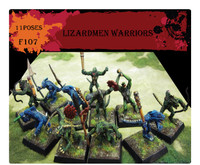 Fantasy Lizardmen Warriors (34) 1/72 Caesars Miniatures