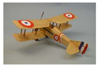 "18"" Wingspan Spad VII Rubber Pwd Aircraft Laser Cut Kit Dumas"