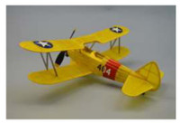 "18"" Wingspan Stearman PT17 Rubber Pwd Aircraft Laser Cut Kit Dumas"