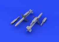 AGM-88 HARM (Photo-Etch & Resin) 1/48 Eduard