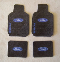 Ford Car Mat Set 1/25 Plastic Dreams