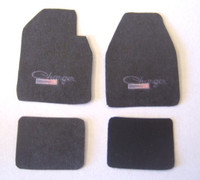 Charger Car Mat Set 1/25 Plastic Dreams