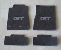 Mustang GT Car Mat Set 1/25 Plastic Dreams