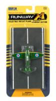 Spitfire (Green Camo) WWII RAF Plane Runway 24