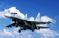 Russian Su-30MKK Flanker G Fighter 1/144 Trumpeter
