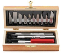 Basic Knife Set in Wooden Box Excel Tools