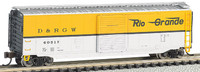 R-T-R Rio Grande 50' Sliding Door Boxcar N Scale Bachmann Trains