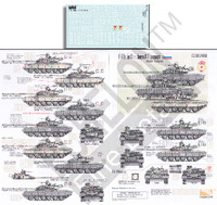 T-80's in Chechnya & Transnistria for TRP 1/35 Echelon Decals