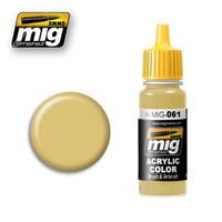 Warm Sand-Yellow Ammo of Mig Jimenez