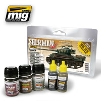 Fury Sherman Set Ammo of Mig Jimenez