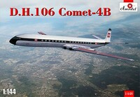 DH-106 De Havilland Comet 4B Passenger Airliner 1/144 A-Model