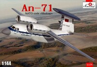 Antonov An-71 'Madcap' Soviet AWACS Aircraft 1/144 A-Model