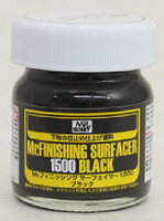 Mr. Finishing Surfacer 1500 Black 40mL Gunze