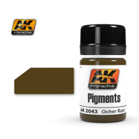 Ochre Rust Pigment (35mL Bottle) AK Interactive