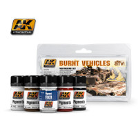 Burnt Vehicles Weathering Pigment Set