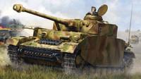German PzKpfw IV Ausf. H Medium Tank (New Tool) 1/16 Trumpeter