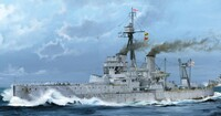 HMS Dreadnought WWI British Battleship 1918 1/350 Trumpeter