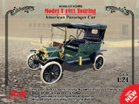 Model T 1911 Touring American Passenger Car 1/24 ICM Models