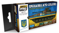 Ukraine ATO Colors Set Ammo of Mig Jimenez