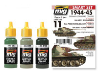 1944-1945 German Standard Color Set Ammo of Mig Jimenez