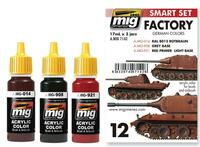 German Factory Colors Set Ammo of Mig Jimenez