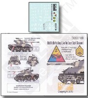Hell Hath no Fury Like an Easy Eight Scorned 1/35 Echelon Decals