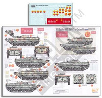 101st Battalion (MVD) BMP1Ps in Chechen War 1/35 Echelon Decals