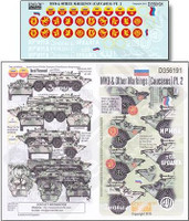 MVD & Other Markings (Caucasus) Pt.2 1/35 Echelon Decals