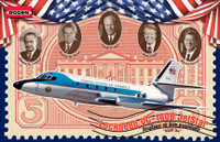 VC-140B Jetstar US Air Force One Presidential Aircraft 1/144 Roden