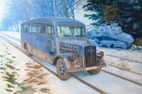 Opel Blitz 3.6-47 Model W39 Ludewig Early Omnibus 1/35 Roden