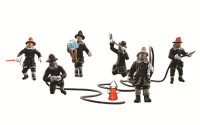 Scenic Accents Rescue Firefighters HO Scale Woodland Scenics