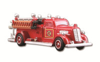 Fire Truck HO Scale Woodland Scenics