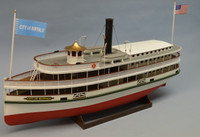 "33"" City of Buffalo 1800's Lake Steamer Ferry Kit 1/48 Dumas"