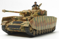 German Pz IV Ausf H Late Production Tank 1/48 Tamiya