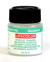 Thinner 22mL Bottle Lifecolor