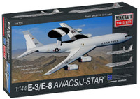 E-3 AWACS/E-8 Joint Star Aircraft 1/144 Minicraft