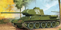 T34/85 No.112 Factory Production Tank 1/35 Academy