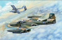 US A-37B Dragonfly Light Attack Aircraft 1/48 Trumpeter
