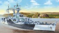 HMS Abercrombie British Monitor 1/350 Trumpeter