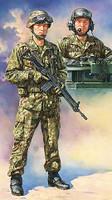 JGSDF Tank Crew 1/16 Tamiya