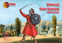 XVII Century Crimean Tartar Infantry (48) 1/72 Mars Figures