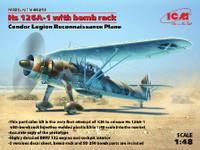 Hs126A-1 Condor Legion Recon Aircraft 1/48 ICM Models