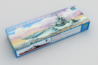 USS West Virginia BB-48 Battleship, 1945 1/700 Trumpeter
