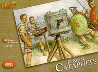 Roman Catapults (4 w/48 Figures) 1/72 Hat