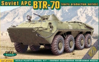 BTR-70 Early Production Soviet Armored Personnel Carrier 1/72 Ace Models