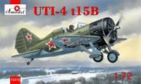 Polikarpov UTI4 t15B Soviet Fighter 1/72 A-Model