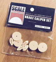 Brembo Style Brake Caliper Set (4) (Resin) 1/24 Scale Motorsport