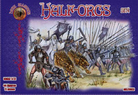 Half Orcs Set #4 Figures (44) 1/72 Alliance Gaming Figures