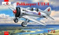 Polikarpov UTI4 Flight Trainer Aircraft 1/72 A-Model