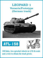 Leopard 1 Vorserie/Protype (German) Track Set (180 Links & 2 Sprocket Wheels) 1/35 Friulmodel
